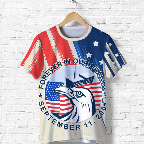 1stIceland American Firefighters Sacrifice 9.11.01 T Shirt K8 - 1st Iceland