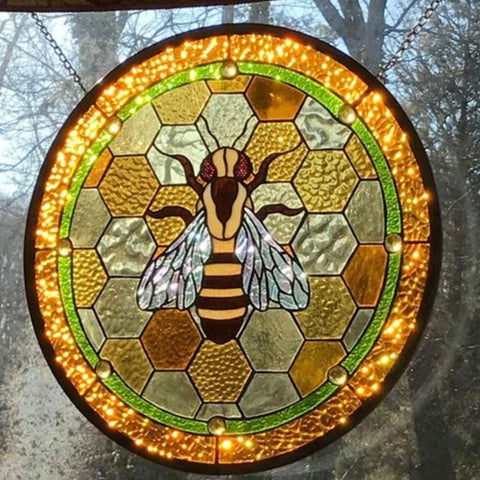Image of Queen Bee Suncatcher TH7 - 1st Iceland