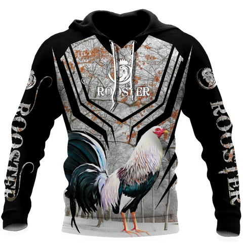 Image of 1stIceland Rooster Black Hoodie TH12 - 1st Iceland
