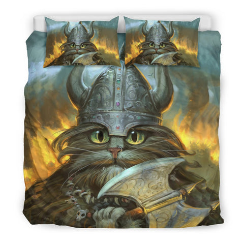 Image of 1stIceland Viking Bedding Set, Freya's Cat K5 - 1st Iceland