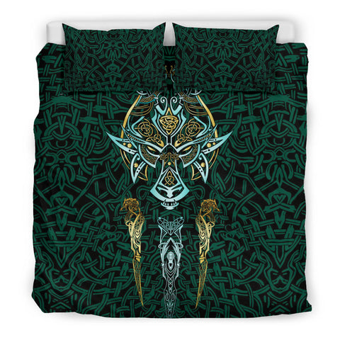Image of 1stIceland Viking Bedding Set, Fenrir The Vikings Wolves Th00 - 1st Iceland