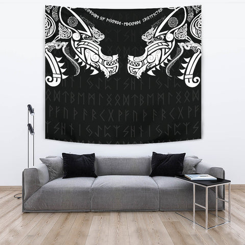 1stIceland Viking Tapestry, Fenrir Tattoo The Ragnarok K4 - 1st Iceland