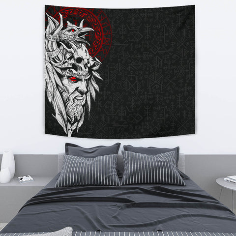 1stIceland Viking Odin And Raven Tapestry TH12