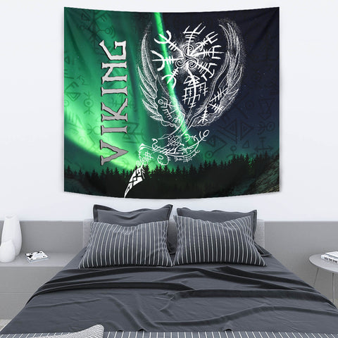 1stIceland Viking Tapestry Northern Lights TH12
