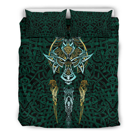 1stIceland Viking Bedding Set, Fenrir The Vikings Wolves Th00 - 1st Iceland