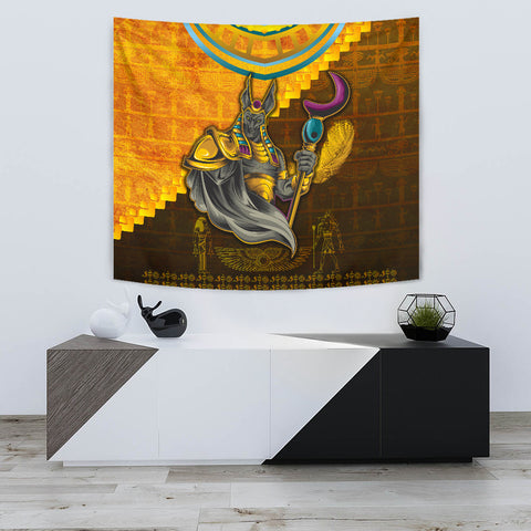 1stIceland Anubis Tapestry Egyptian God K8 - 1st Iceland