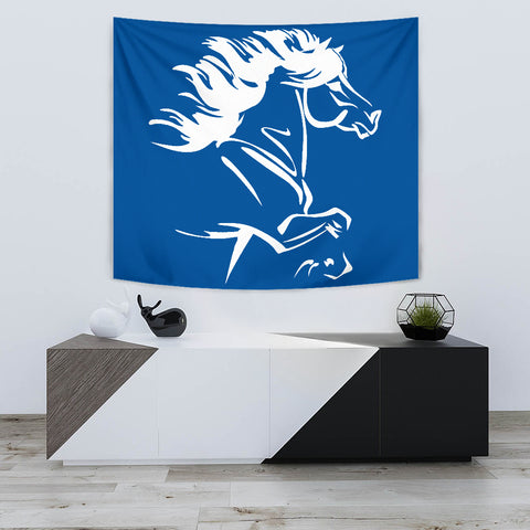 1stIceland Tapestry, Icelandic Horse Coat Of Arms K4