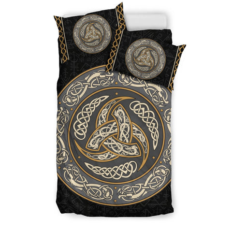 1stIceland Viking Bedding Set, Triskele Celtic Knot Rune NN8 - 1st Iceland