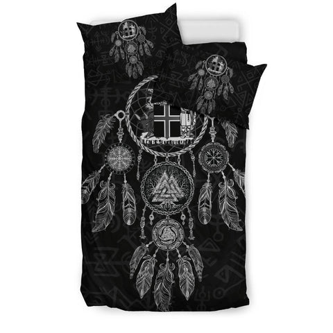 1stIceland Viking Bedding Set, Dreamcatcher Iceland Coat Of Arm K4 - 1st Iceland
