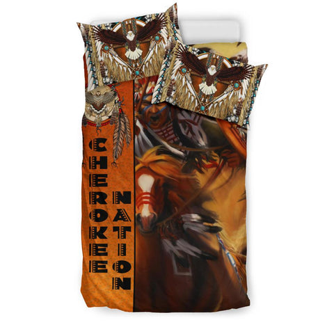 Image of Native American Bedding Set - Riders On The Storm K7 - 1st Iceland