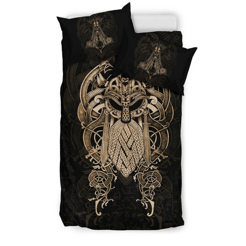 Image of 1stIceland Viking Bedding Set, Odin & Mjolnir K4 - 1st Iceland