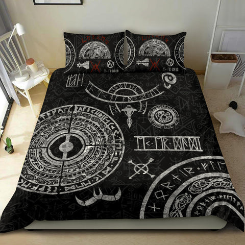 1stIceland Viking Bedding Set, Baldur Norse Mythology Tattoo K4 - 1st Iceland