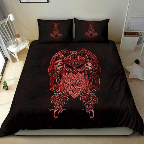 1stIceland Viking Bedding Set, Odin Mjolnir K4 - 1st Iceland