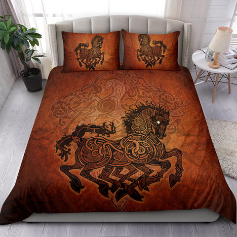 Image of 1stIceland Viking Sleipnir Bedding Set TH4 - 1st Iceland