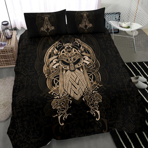 1stIceland Viking Bedding Set, Odin & Mjolnir K4 - 1st Iceland