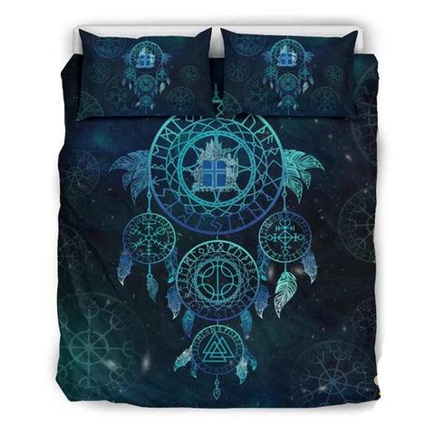 1stIceland Viking Bedding Set, Dreamcatcher Iceland Coat Of Arms Th45 01 - 1st Iceland