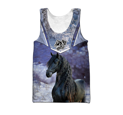 1stIceland Friesian Horse Men's Tank Top Especially TH12 - 1st Iceland