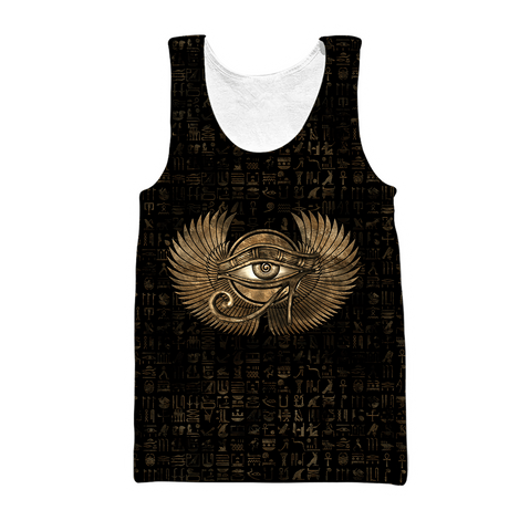 1stIceland Egypt Men's Tank Top Eye of Horus TH12 - 1st Iceland