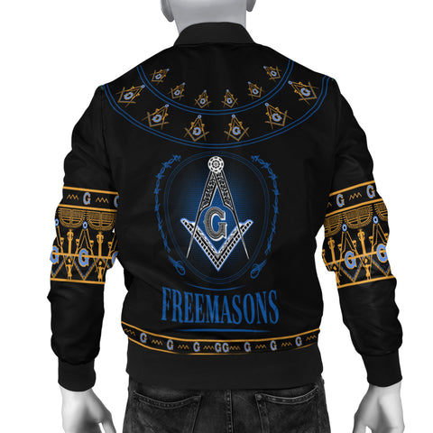 Image of 1stIceland Freemasonry Men's Bomber Jacket TH5 - 1st Iceland