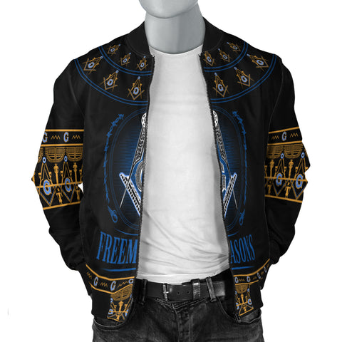 1stIceland Freemasonry Men's Bomber Jacket TH5 - 1st Iceland