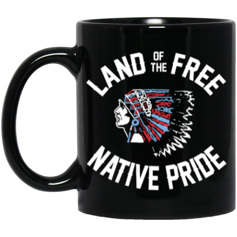 Native Inspired Land Of The Free Mug K9 - 1st Iceland