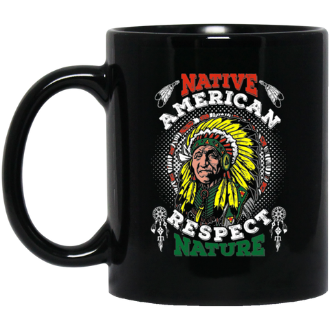 Native American Respect Nature Mug K9 - 1st Iceland