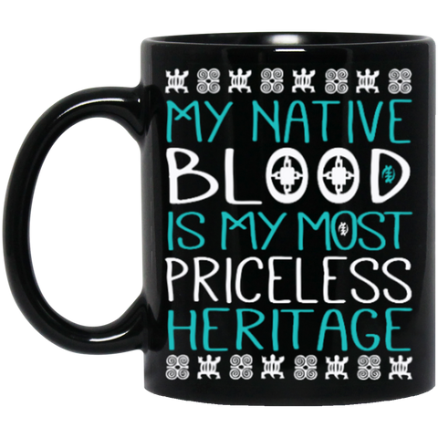 Teal Nature Is Most Priceless Heritage Mug K9 - 1st Iceland
