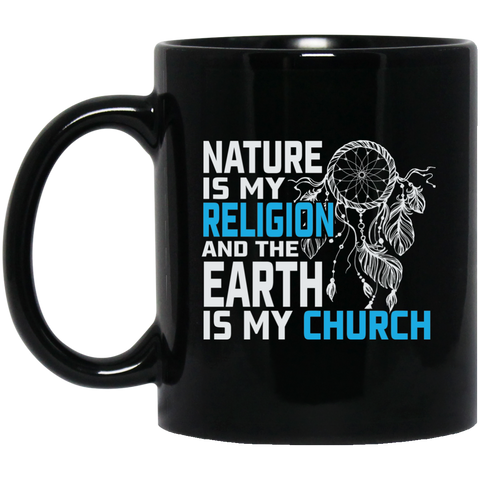 Blue Nature Is My Religion Mug K9 - 1st Iceland