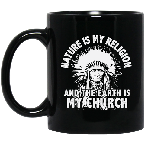 Chief Nature Is My Religion Mug K9 - 1st Iceland