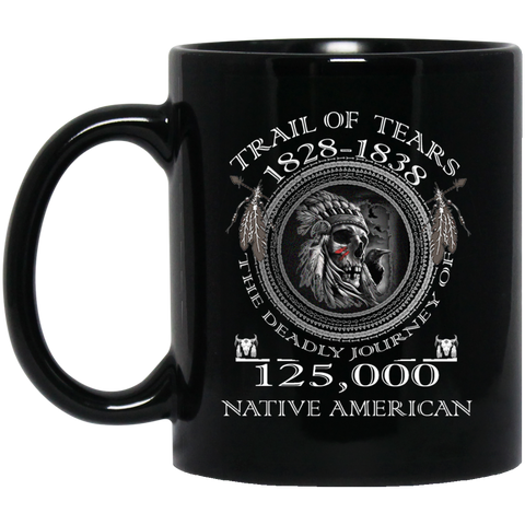 Trail Of Tears 1828-1838 Mug K9 - 1st Iceland