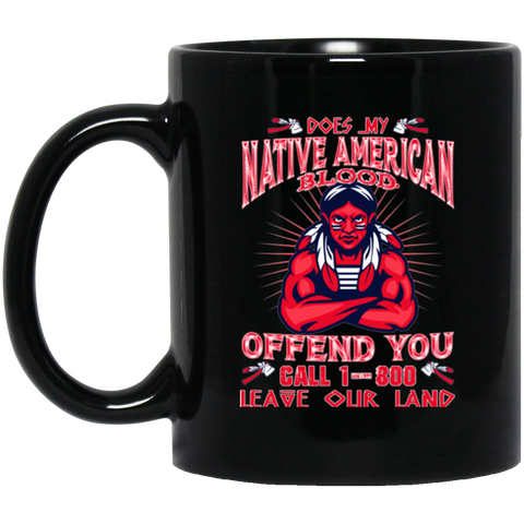 Native American Blood Mug K9 - 1st Iceland