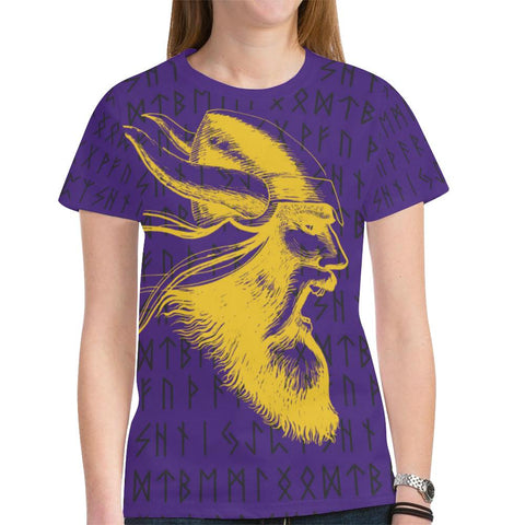 1stIceland Viking T-Shirt, Minnesota Vikings Football Runes TH75 - 1st Iceland