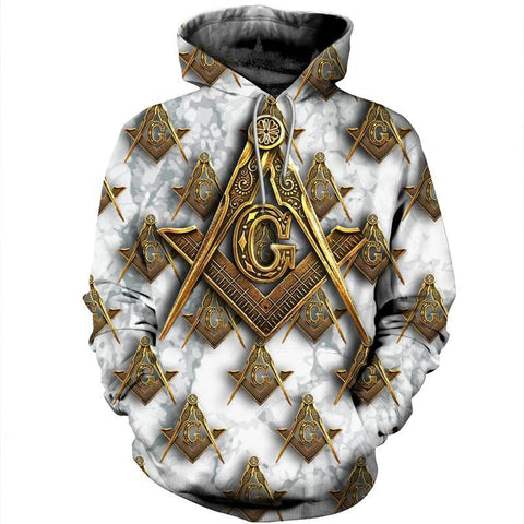 3D All Over Hoodie Freemasonry Ver.02 TH5 - 1st Iceland