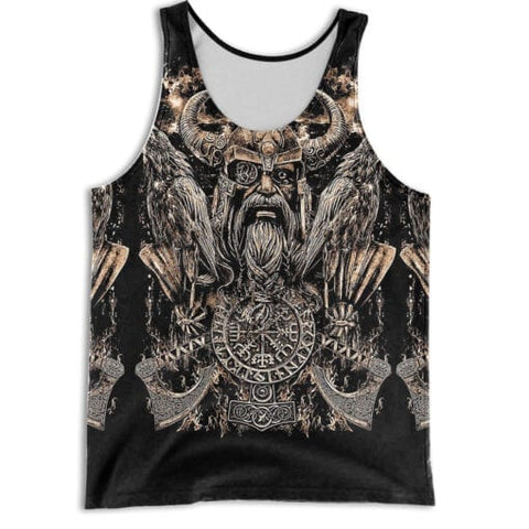 1stIceland Vikings Tank Top, Odin's Raven TH5 - 1st Iceland