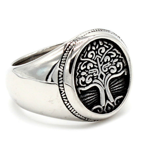 Image of 1stIceland Vikings Ring, Yggdrasil Th00 - 1st Iceland