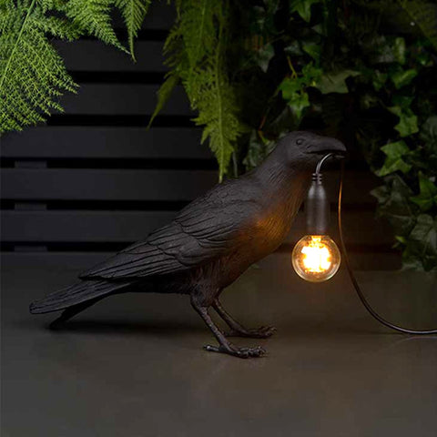 Raven Bird LED Lamp Light TH19