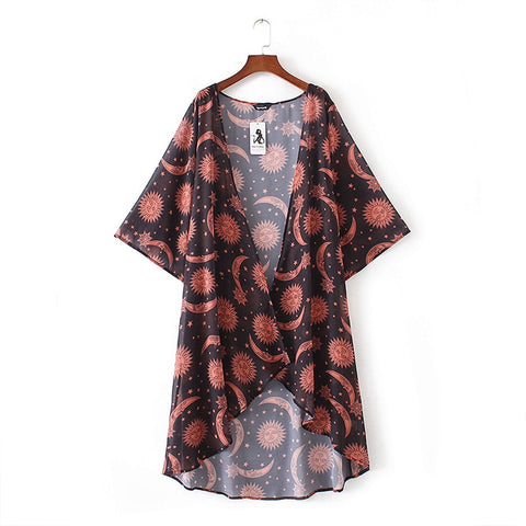 Moon And Sun Blouse TH19