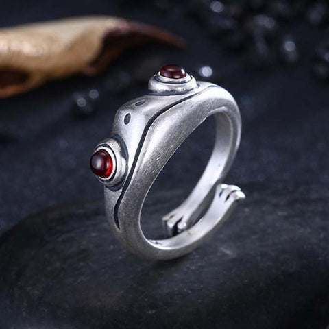 Adjustable Frog Ring TH19 - 1st Iceland