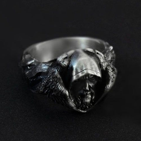 1stIceland Vikings Ring, Odin's With Ravens Th00 - 1st Iceland