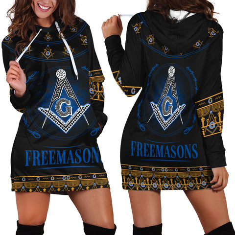 1stIceland Freemasonry Hoodie Dress TH5 - 1st Iceland