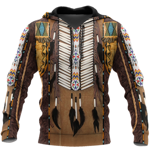 1st Iceland Premium Native American Culture 3D Hoodie TH12 - 1st Iceland