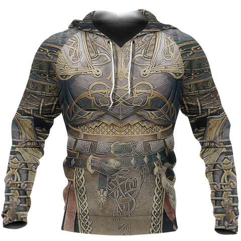 1sticeland Hoodie, Kratos Armor All Over Print TH00 - 1st Iceland