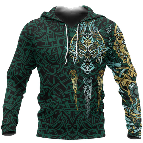 1stIceland Viking Hoodie, Fenrir The Vikings Wolves Th00 - 1st Iceland