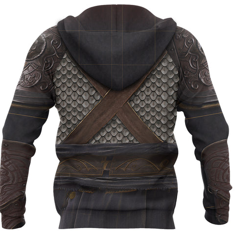 1stIceland Zip Up Hoodie, 3D Assassin Creed Odyssey Armour - 1st Iceland