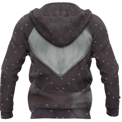 Image of 1sticeland Zip Up Hoodie, 3D Arya Stark Armor All Over Print - 1st Iceland