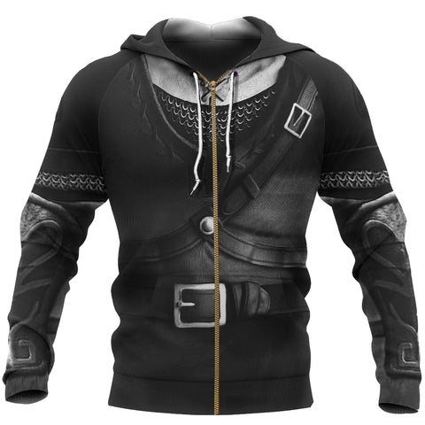 1sticeland Zip Up Hoodie, 3D Dark Link Costume All Over Print - 1st Iceland