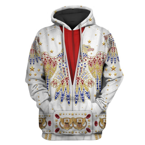 1stIceland Pullover Hoodie, 3D Elvis Presley Suit Th00 - 1st Iceland