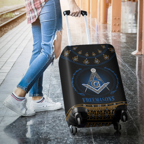 1stIceland Freemasonry Luggage Cover TH5 - 1st Iceland