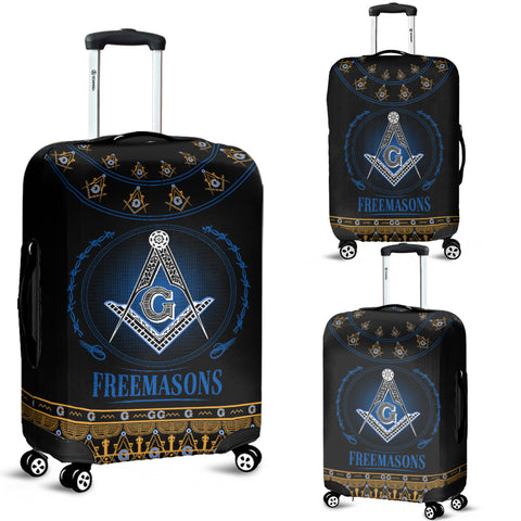 Image of 1stIceland Freemasonry Luggage Cover TH5 - 1st Iceland
