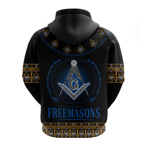 Image of 1stIceland Freemasonry Zip Up Hoodie TH5 - 1st Iceland